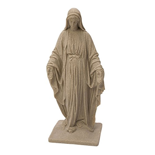 Emsco Group Virgin Mary Statue - Natural Sandstone Appearance