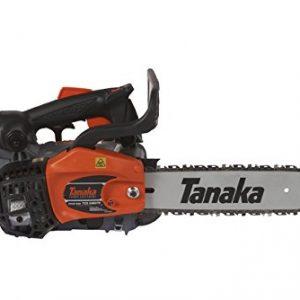 Tanaka 12-Inch Top Handle Chain Saw with Pure Fire Engine