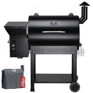 Z Grills 2019 New Model Wood Pellet Grill & Smoker