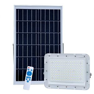 300W LED Solar Flood Lights,20000Lumens Street Flood Light Outdoor