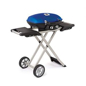 Napoleon Portable Propane Grill with Cart, Blue