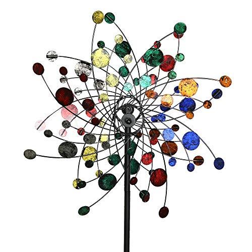 MJ Spinner Designs Confetti Style Kinetic Wind Garden Spinner