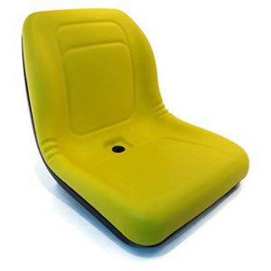 A&I Products New Yellow HIGH Back SEAT for John Deere Lawn Mower Models