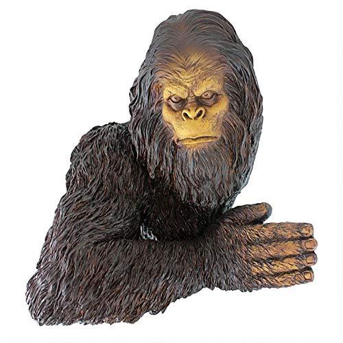 Design Toscano Bigfoot the Bashful Yeti Garden Tree Sculpture