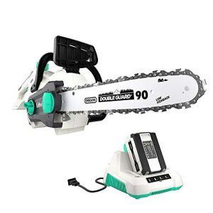 LiTHELi 40V 14 inches Cordless Chainsaw with Brushless Motor