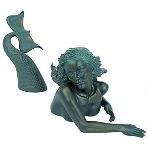 Design Toscano Meara the Mermaid Swimmer Outdoor Garden Statue