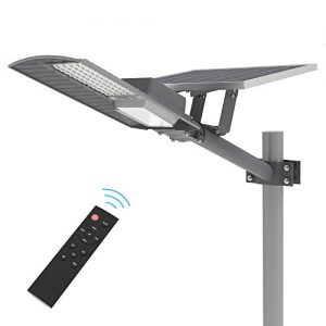 TENKOO LED Outdoor Solar Street Lights Dusk to Dawn