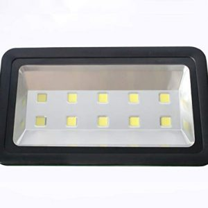 Outdoor LED floodlight 500W Black, AIYONG Super Bright Daylight White