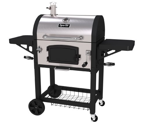 Dyna-Glo Heavy Duty Stainless Charcoal Grill, Large,