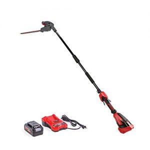 Powerworks 40V 20-Inch Cordless Pole Hedge Trimmer