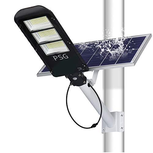 180W Solar Street Lights Outdoor Lamp, 360 LEDs 10000 Lumens