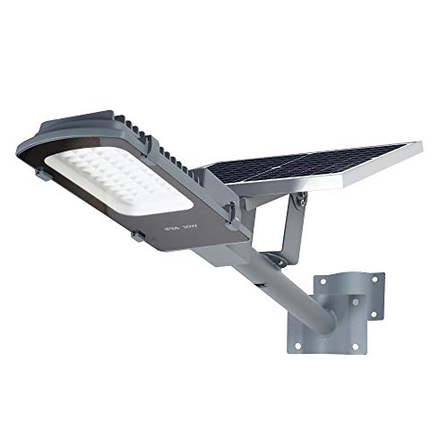 Gebosun LED 30W Solar Flood Outdoor Street Lights,IP65 Waterproof Dusk