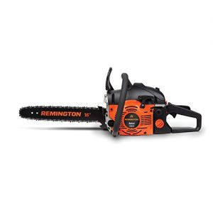 Remington 16-inch Gas Powered Chainsaw with Carrying Case