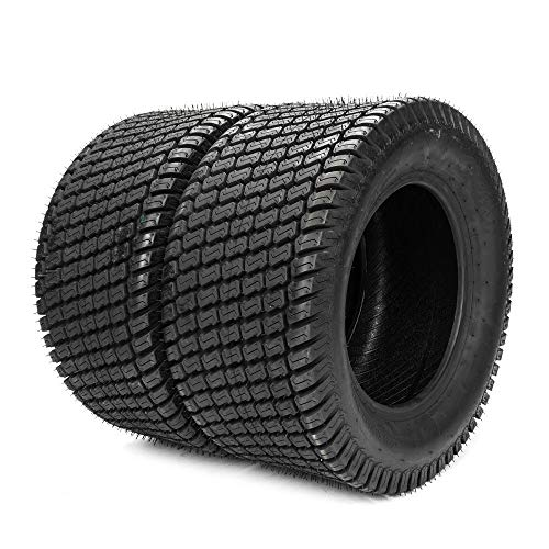 Set of 2 Turf Tubeless Tires Lawn & Garden Mower Tractor Cart Tires