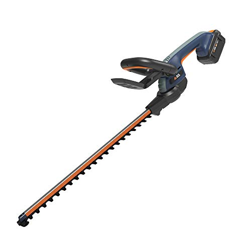 BLUE RIDGE 40V 2.0Ah 24'' Cordless Hedge Trimmer Battery and Charger Included