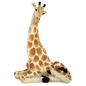 Design Toscano Zari The Resting Giraffe African Decor Garden Statue
