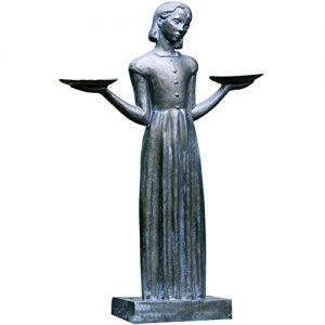 Potina Outdoor Garden Sculpture - Savannah's Bird Girl Statue