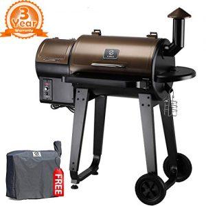 Z Grills 2019 Upgrade Model Wood Pellet Grill & Smoker
