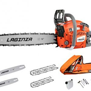 LaGinza 16-inch 18-inch 2IN1 Gas Powered Chainsaw