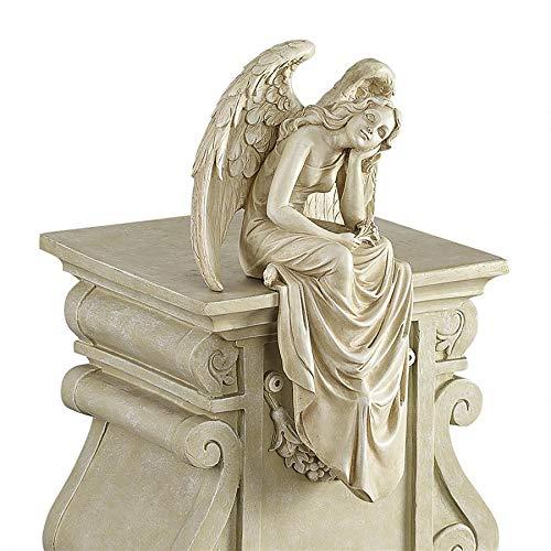 Design Toscano Resting Grace Angel Sitting Garden Statue