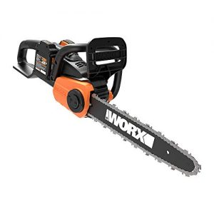 "WORX 40V Power Share 14"" Cordless Chainsaw w/ Auto-Tension"