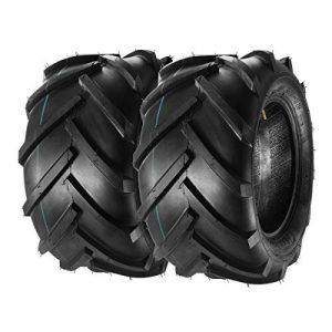 MaxAuto Lawn Garden Tractor Tires Lug Ag Tire 6PR, Set of 2