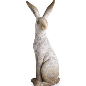 Wind & Weather Sitting Bunny Sculpture, Weather Resistant