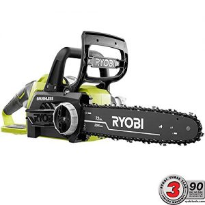 Ryobi ONE+ 12 in. 18-Volt Brushless Lithium-Ion Electric Cordless Chainsaw