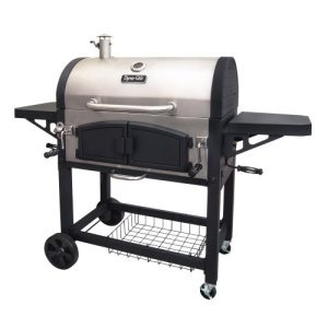 Dyna-Glo Dual Zone Premium Charcoal Grill, X-Large, Stainless