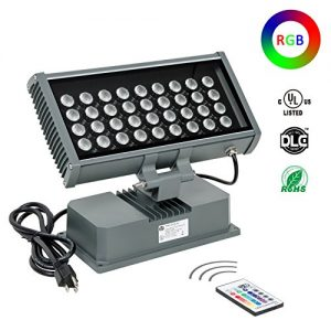 H-TEK 108W LED Wall Washer Light with RF Remote Controller