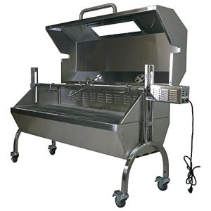 Titan Great Outdoors 25W Stainless Steel Rotisserie Grill Roaster