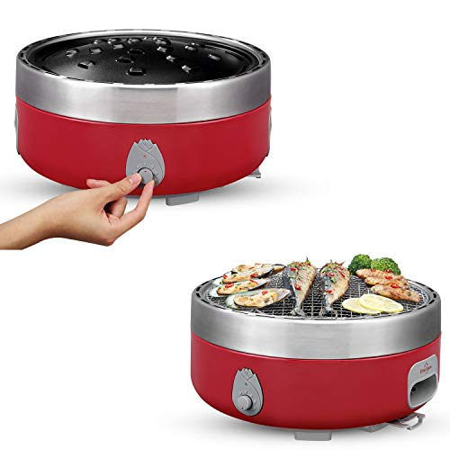 Freshore Portable Smokeless Charcoal BBQ Grill