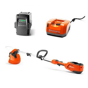 Husqvarna Edger Trimmer + 36-Volt 2.1 Ah Lithium-Ion Battery