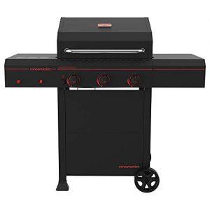 Megamaster Propane Gas Grill, Black