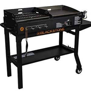 Blackstone Griddle and Charcoal Combo, Black