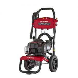 CRAFTSMAN MAX PSI 2.3 MAX GPM Gas Pressure Washer Powered