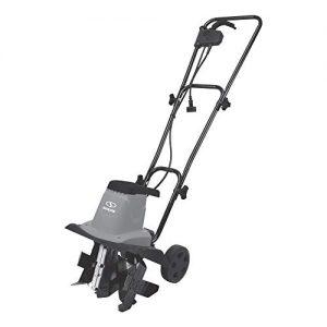 Sun Joe Electric Garden Tiller/Cultivator | 12-Inch | 8 Amp (Gray) (Renewed)