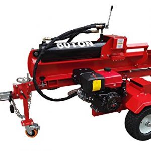 60 Ton, 15HP 420cc Hydraulic Gasoline Powered Log Wood Splitter Cutter Machine