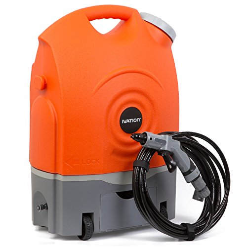 Ivation Multipurpose Portable Spray Washer w/Water Tank