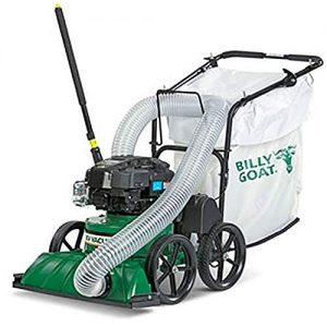 Billy Goat Lawn Vacuum, Green