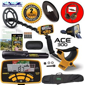 Garrett ACE 300 Metal Detector with Waterproof Coil Pro-Pointer