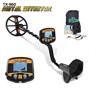 Professional Metal Detector for Adults, High Sensitivity Metal Detector PinPointer