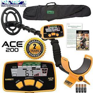 Garrett ACE 200 Metal Detector with Waterproof Search