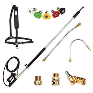 EDOU 4,000 PSI High Pressure Washer Extension Wand Telescoping Lance