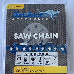 "Archer 20"" Ripping Chainsaw Chain Replaces Stihl"