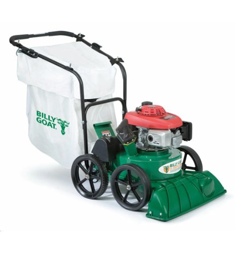 Billy Goat Lawn and Litter Vacuum, Self Propelled 187 cc Honda Engine
