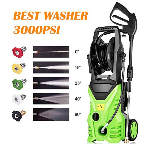 Homdox PSI 1.80 GPM Electric Pressure Washer, Electric Power Washer