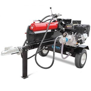 Titan Towable Gas Powered Hydraulic Pivoting Log Wood Splitter