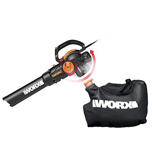 WORX Trivac 2.0 Electric 12-amp 3-in-1 Vacuum Blower/Mulcher/Vac