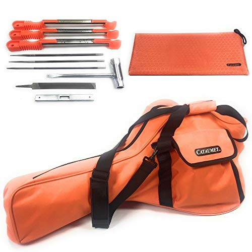 Cataumet Chainsaw Carrying Case Bag Holds 14 16 18 Inch Saws Chain Saw